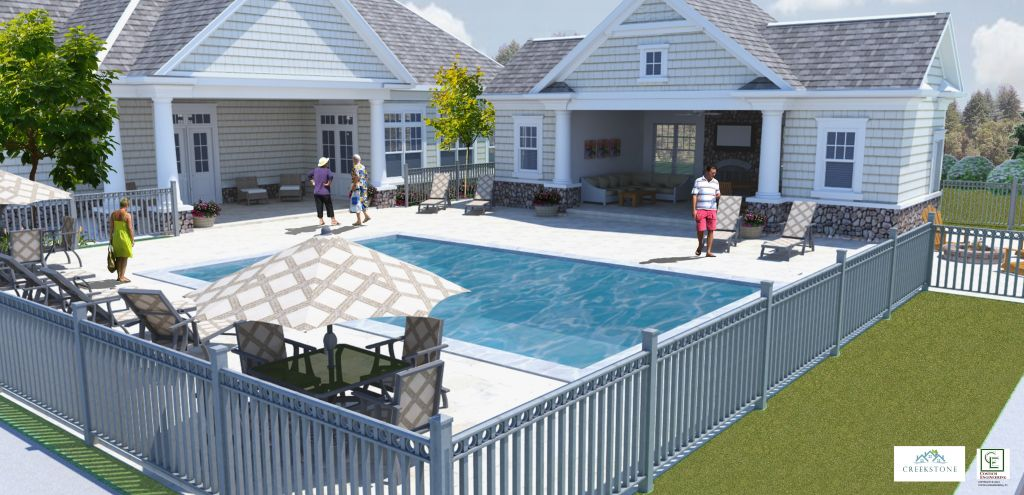 Creekstone gallery costich engineering for Pool design rochester ny