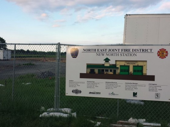 North East Joint Fire District Webster
